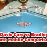 Bour Davis Cars vs Bradley Cars Auto mobile Comparison
