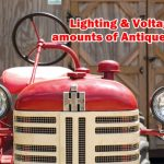 Antique Cars - Lighting and Voltage