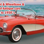 Tires Wheelbase and Classic Car Weight - Car tires,Car Weight and Wheelbase, All the information of Antique cars 1910's to 1950's.