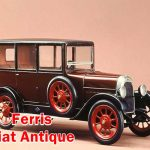 Ferris & Fiat Antique Cars in 1910 - 1920