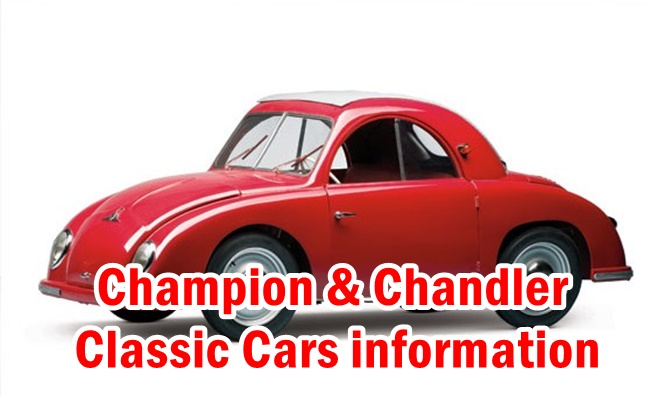 Champion & Chandler Classic Cars information
