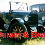 Old Classic cars of USA - Durant & Elcar, Here is the Information about American Car manufactures of early 1900 , Durant and Elcar Four and Six.