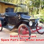 Old School Cars - Grant Classic from 1913 to 1922 , Details include Model,Spare parts,Engine,Price,Production value,History,Battery,Cylinders and etc.
