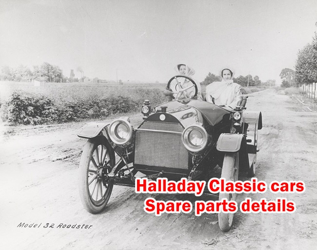 Classic cars Spare parts - Halladay
