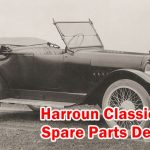 Classic car Spare Parts - Harroun Motors
