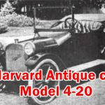 Here is the Info about Value Engine Cylinders Spare parts Tires Vintage Auto Accessories & System details of 1920 Made Harvard Old Muscle Model 4-20.
