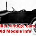 Old Cars - Hollier