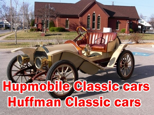 Here is the details of Old Muscle Cars Hupmobile & Huffman Information include Model,Year,Cylinders,Engine,Battery,Spare parts and etc.