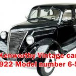 This Article include information about Old School Car Kenworthy  Vintage car 1922 Model number 6-55 Spare parts,Model details and Value.