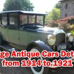 This Article Contain Paige Antique Cars Details from 1914 to 1921 Model 38,46,39,51,55,6-55,6-42,6-66,Type and Sale Price.