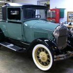 Caring for the Ford Antique Car - Lubrication,Tires,Battery,Generator, Charging Rate,Keep Bolts Tight,The Proper Way to Wash & Storing the Car.