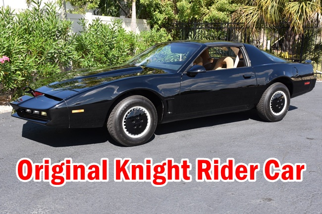 What happened to Knight Rider car? Original Knight Rider Car, KITT, Pontiac Firebird, Pontiac Trans Am, Technical Side, Design, and more.