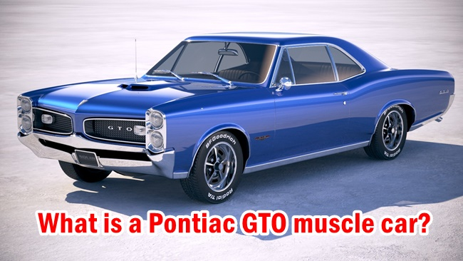 What is a Pontiac GTO muscle car?